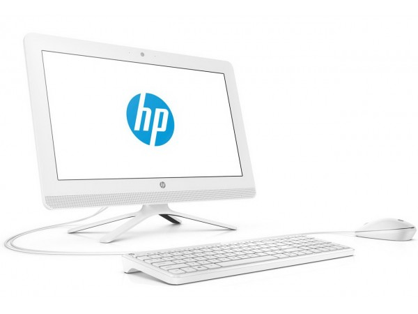 "HP AiO 22-c0008ny, 21.5"" FHD, Touch, Intel Core i3-8130U, Win 10H, Bijeli"
