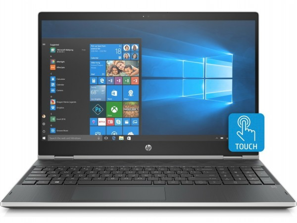 "HP Pavilion x360 15-dq0007nm, 15.6"" FHD, Intel Core i5-8265U, Win10H, Srebreni"
