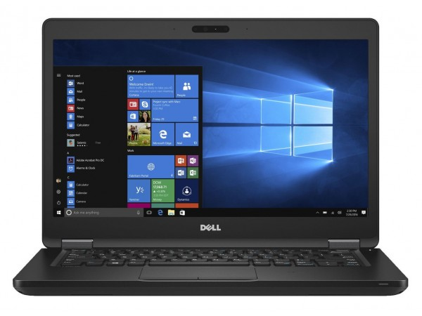 "DELL Latitude 5480, 14"" FHD, Intel Core i5-6300HQ, Windows 10 Pro, Crni"