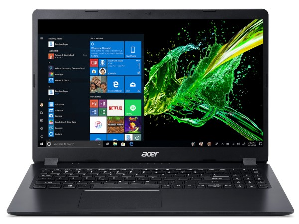 "ACER Aspire 3 A315-22-48KW, 15.6"" HD, AMD A4-9120E, Linux, Crni"