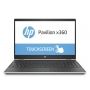 "HP Pavilion x360 15-dq0004nm, 15.6"" FHD, Intel Core i3-8145U, Win 10 H, Srebreni"