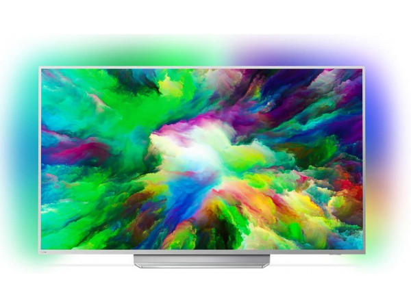 "PHILIPS televizor 55PUS7803/12 E-LED, 55"" (140 cm), 4K Ultra HD, Android, Sivi"