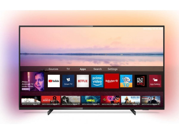 "PHILIPS televizor 55PUS6704/12, 55"" (140cm), E-LED, 4K  Ultra HD, Smart, Crni"
