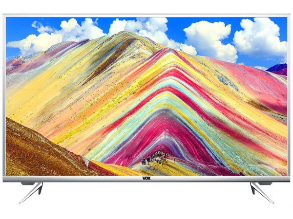 "VOX televizor 50ADS668S, 50"" (127 cm) LED, 4K Ultra HD, Smart, Srebrena"