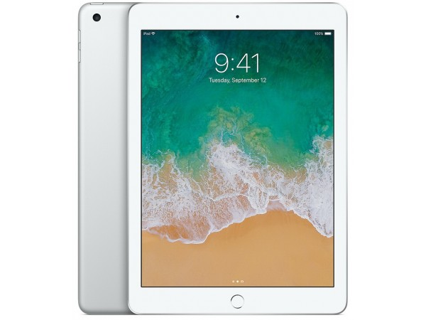"APPLE iPad 5th Gen, 9.7"" (2048 x 1536), A9 chip, 128GB, Silver"